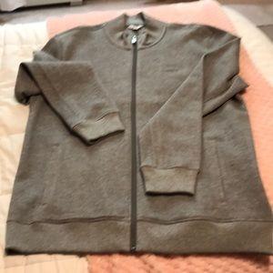 NWOT Men's Calvin Klein Gray Jacket